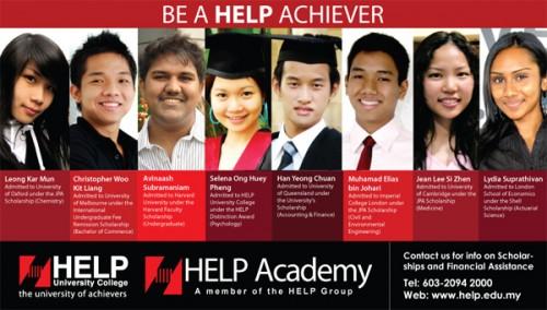 kuliah di help malaysia