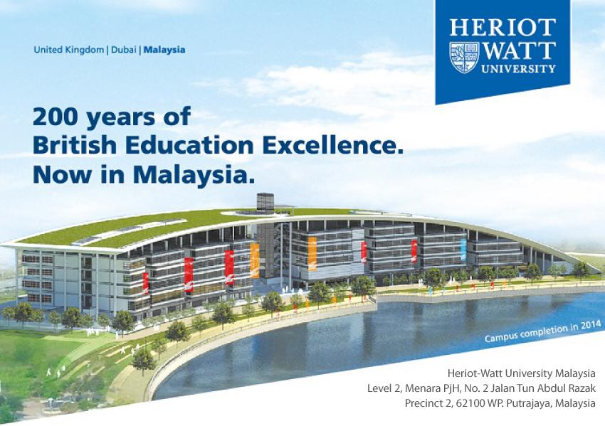 kuliah di Heriot watt malaysia