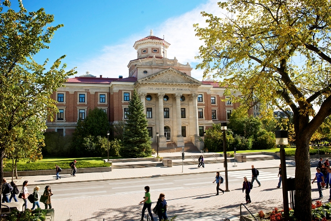 kuliah di university of Manitoba