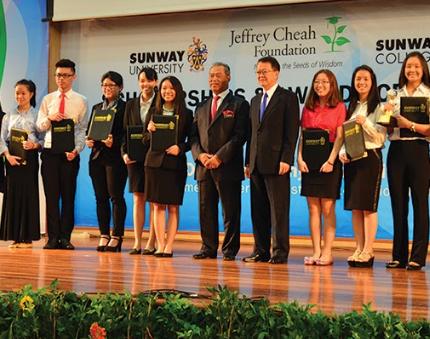 Beasiswa di Sunway University Malaysia3