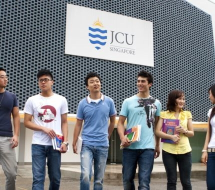 Jurusan di James Cook University Singapura